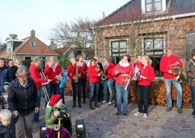 Intocht Sinterklaas in Easterein 2014