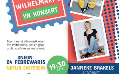 Wilhelmini's en Maxi's in concert met Janneke Brakels