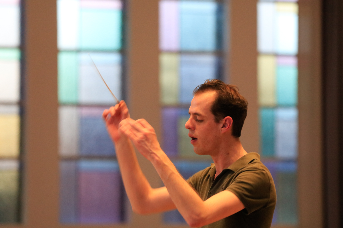 Wilbert Zwier interim-dirigent fanfare Wilhelmina Easterein