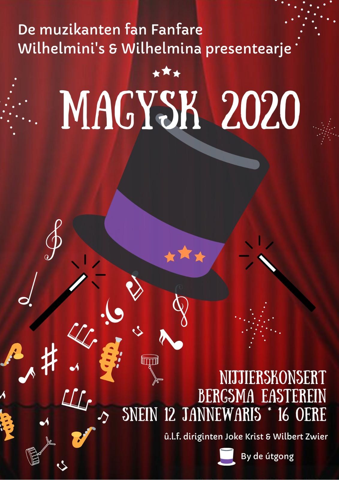 'Magisch' Nieuwjaarsconcert in Easterein